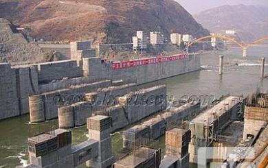 蜀河水电站预应力闸墩
