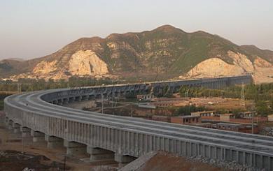 南水北调漕河渡槽工程