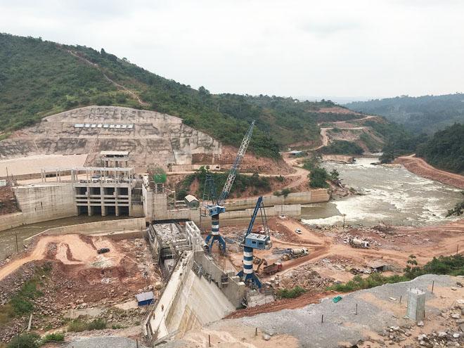 Zongo II水电站大坝工程预计今年9月底完成