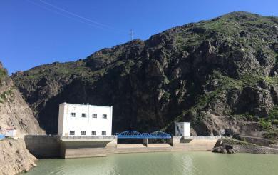 吉林台二级水电站引水发电系统安全监测系统工程