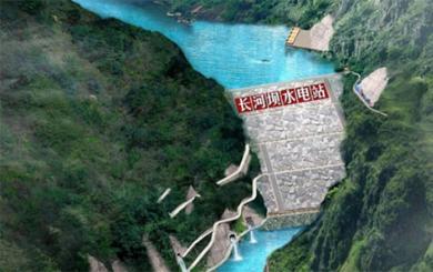 长河坝水电站锚索施工及工效成本测定